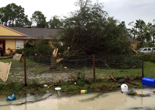 Lake Worth FL hurricane wind home damage insurance claims