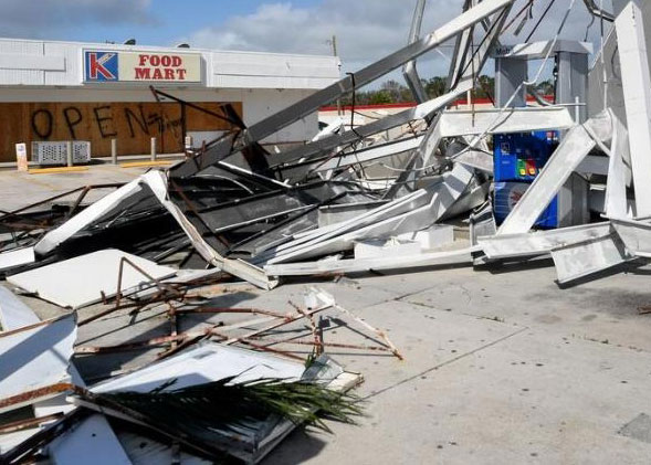 Pompano Beach FL business hurricane damage insurance claims