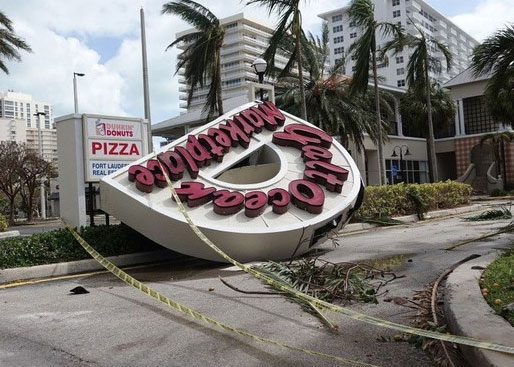 Port St. Lucie FL business hurricane damage insurance claims