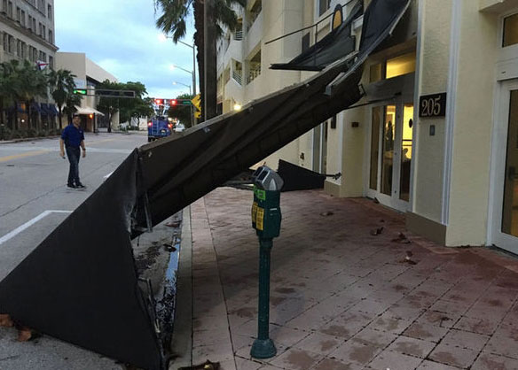 Royal Palm Beach FL business hurricane damage insurance claims