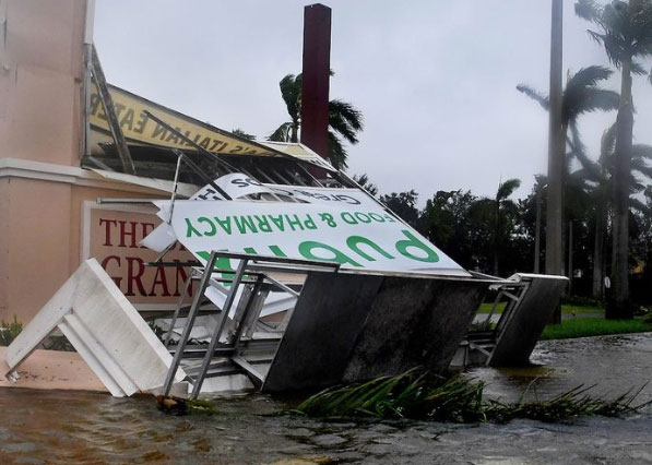 Stuart FL business hurricane damage insurance claims