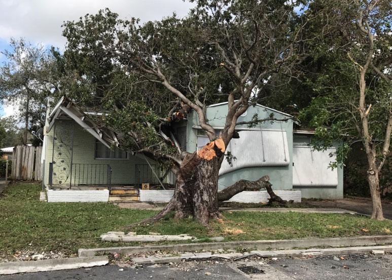 Stuart FL hurricane wind home damage insurance claims