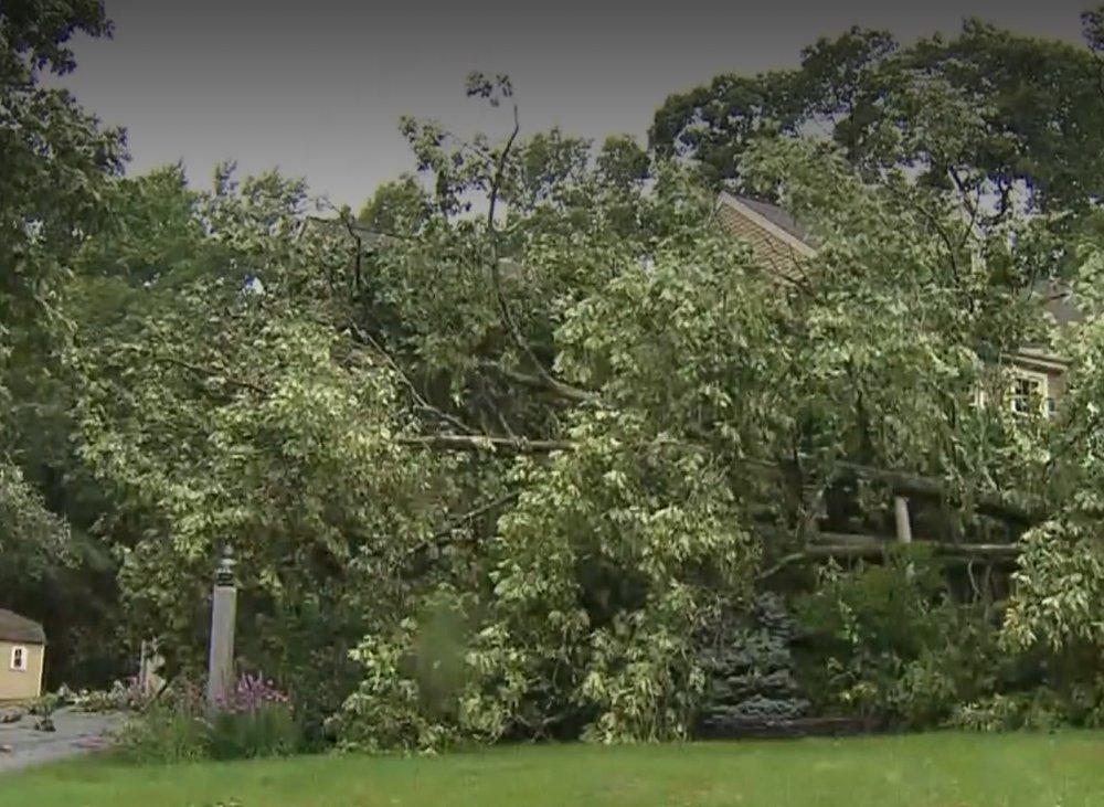 Upton MA tornado business damage insurance claims
