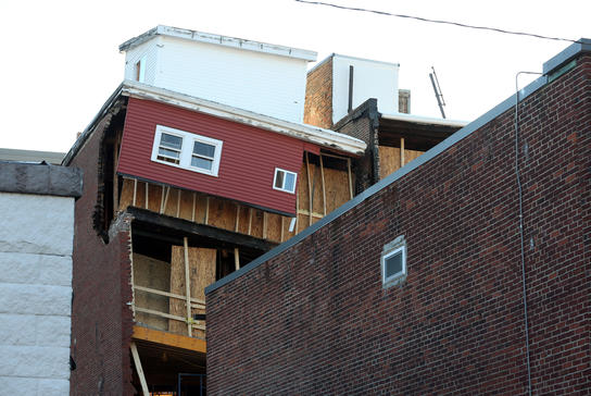 building collapse south boston, ma insurance claim.