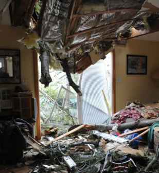 Holbrook, MA major structural DAMAGE INSURANCE CLAIM.