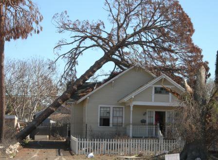 south Burlington VT structural damage insurance claim.