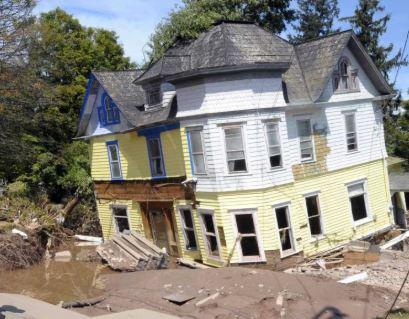 winooski, vt major flood & structural damage insurance claim.