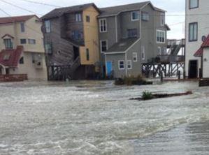 Topsail Beach, NC hurricane and major flood insurance claim.