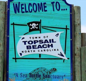 Topsail Beach, North Carolina.