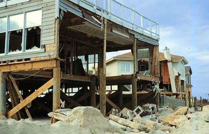 Sullivan's Island SC hurricane and storm surge insurance claim.