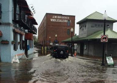 Wilmington, NC hurricane and major flood insurance claim.