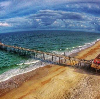 Rodanthe, North Carolina pier.