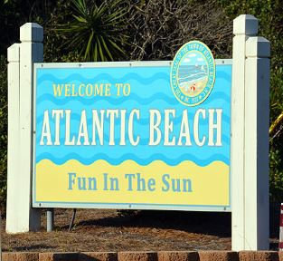 Atlantic Beach, NC — Fun in the sun.