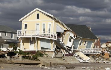 Carolina Beach, NC major structural hurricane damage insurance claim.