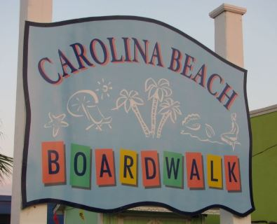 Carolina Beach, NC — boardwalk.