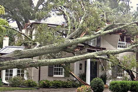 Indian Beach, NC wind and structural property damage insurance claim.