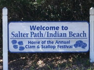 Indian Beach, NC — Welcome to Salter Path / Indian Beach home of the Annual Clam & Scallop Festival.