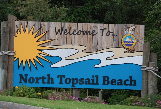 North Topsail Beach, North carolina.