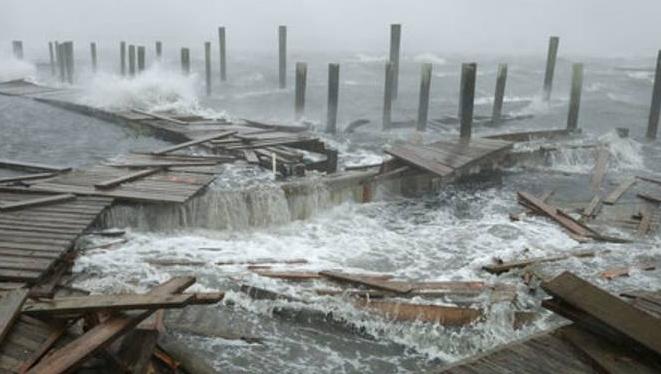Sunset Beach, NC coastal damage insurance claim.