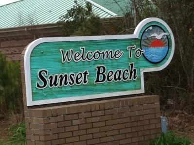 Sunset Beach, North Carolina.