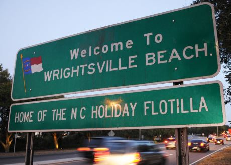 Wrightsville Beach, North carolina — Home of the N.C. Holiday Flotilla.
