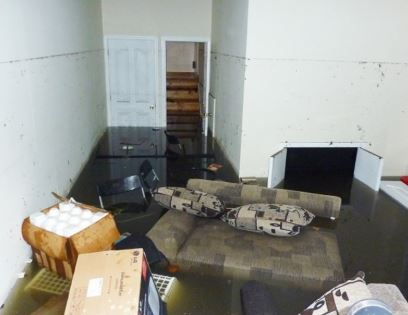 Apalachicola, fl home flood damage insurance claim.
