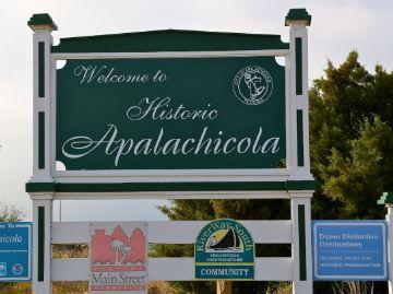 wELCOME TO HISTORIC APALACHICOLA, FLORIDA.