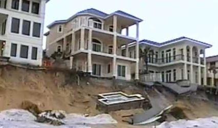Destin, FL major hurricane structural home damage insurance claim.