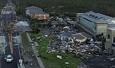 Mexico Beach, FL major hurricane damage business insurance claim.