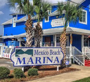 Mexico Beach, FL marina.