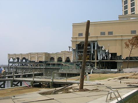 Laguna Beach, FL major commercial property damage insurance claim.