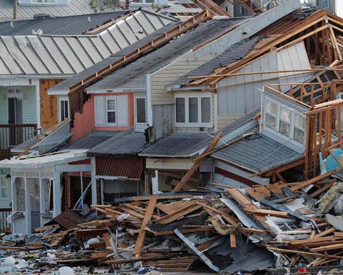 Parker, FL condominium major hurricane damage insurance claim.