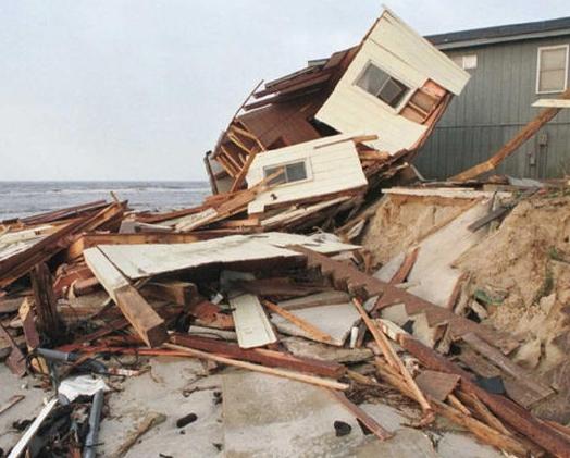 Bald Head Island, NC major hurricane damage to condo & apartments insurance claim.
