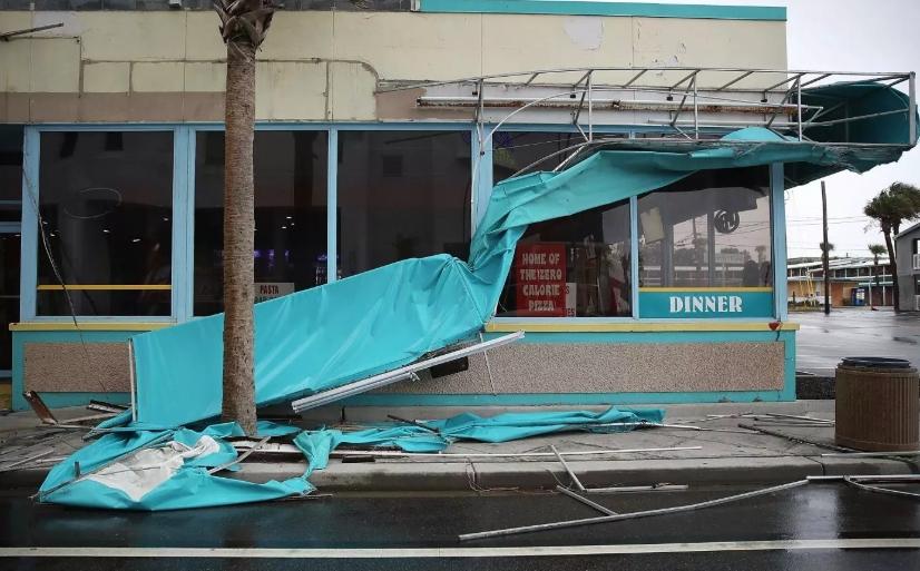 Bald Head Island, NC business interruption insurance claim.