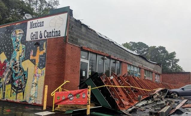 North Topsail Beach, NC  major business damag e insurance claim.
