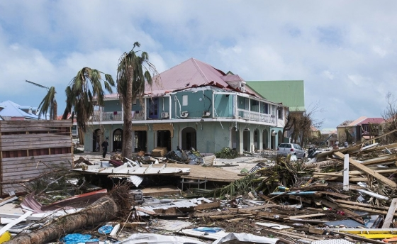 jenson beach, FL major hurricane business insurance claim.