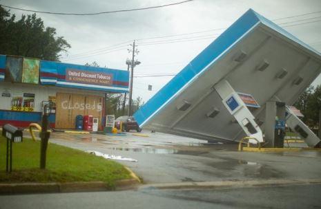 Holly Ridge, NC  business damage and business interruption  insurance claim.