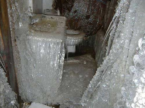suffield, CT ice dam major water damage insurance claim.