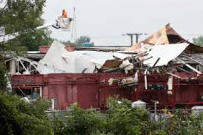 Recent Deerfield MA tornado damage claim