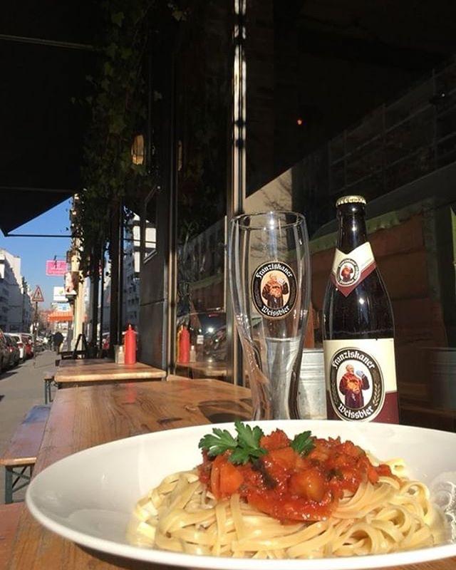 Plat du Kiez aujourd'hui: Linguine sauce légumes méditerranée🌞🌞🌞