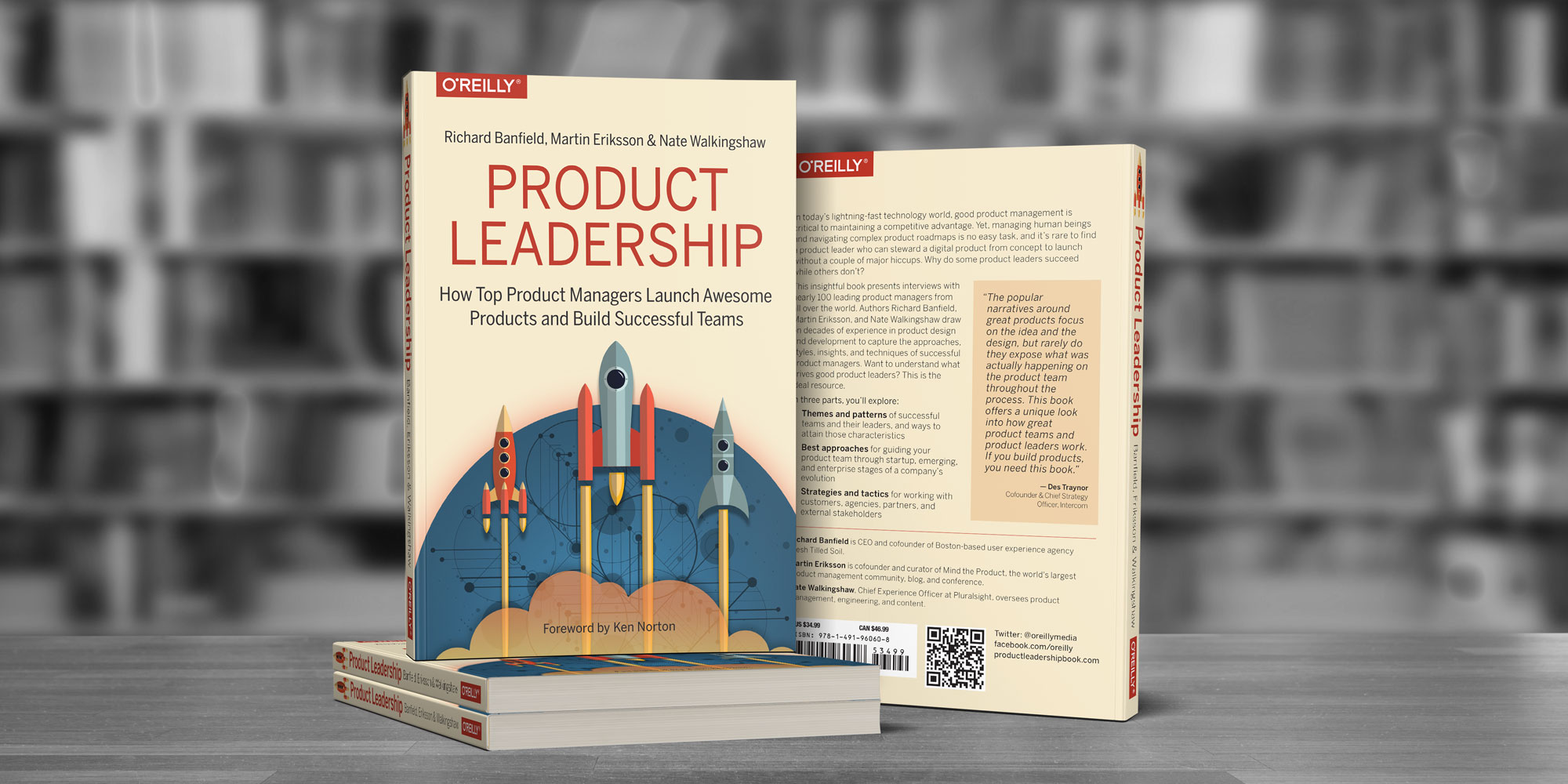 Stack Of Product Leadership Books