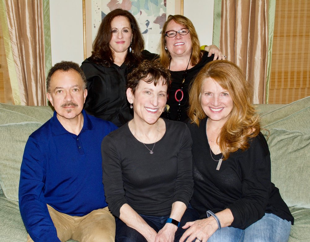 "Left to right:  Benjamin V. Marshall, Julie Weinberg, Victoria Z. Daly, Charlene Donaghy, C. Kay ""Andy"" Landis"