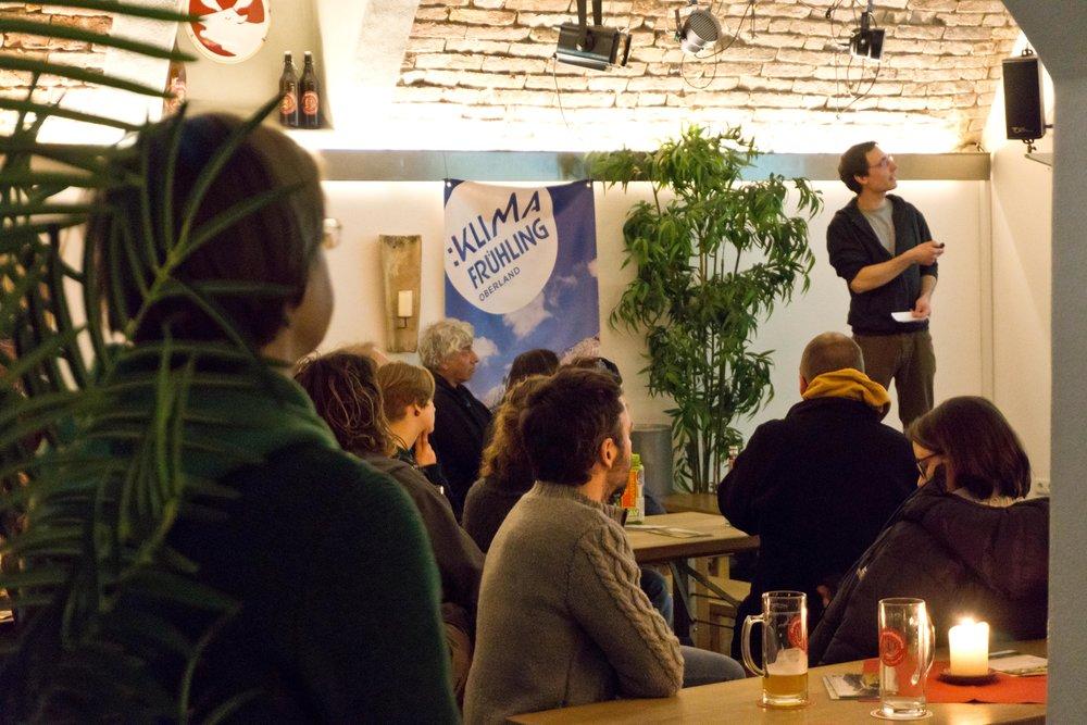 Ihre Veranstaltung beim Klimafrühling - Die Bühne für den Klimaschutz im Oberland -