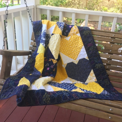 Collaborating with Kylie - Quilts for Cure