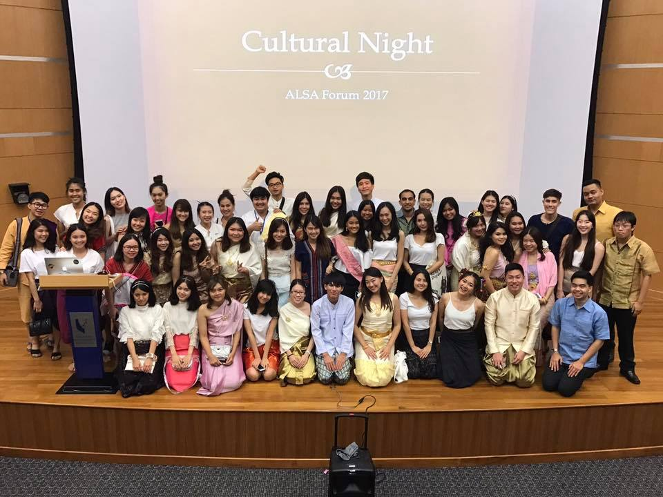 Thai delegates during Cultural Night at AF 2017!