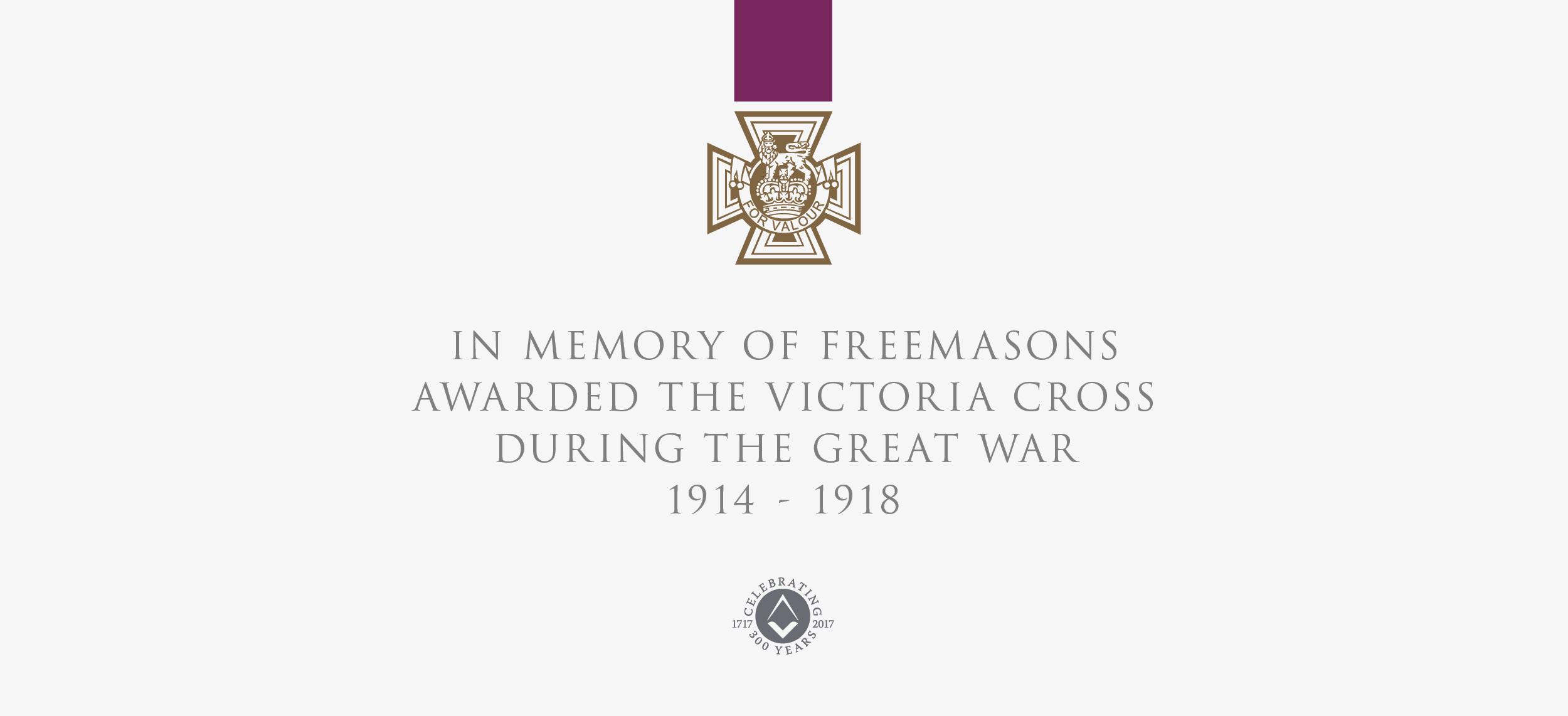 Freemasons – Victoria Cross Event and Exhibition — Chris Bishop Creative