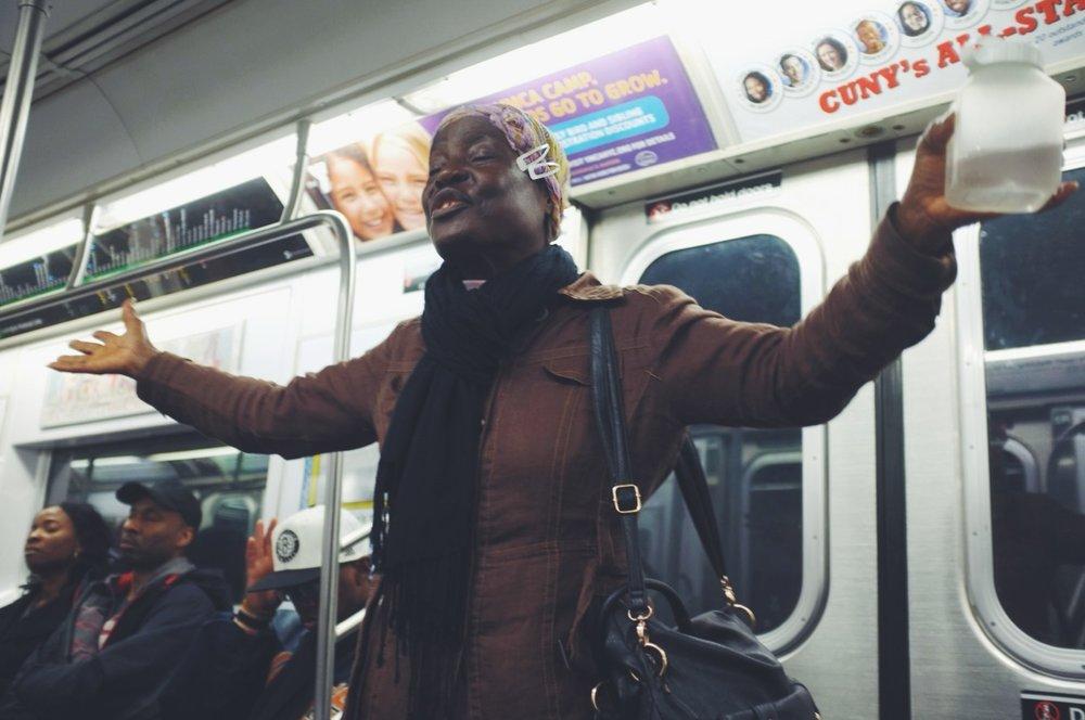 114. Subway Gospel  #streetphotography   www.willoharephotography.com