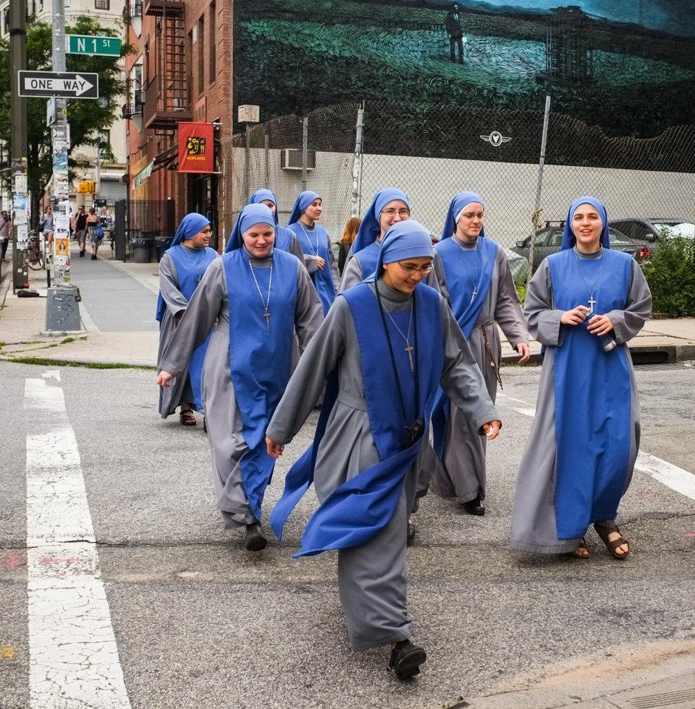 Nuns on Bedford