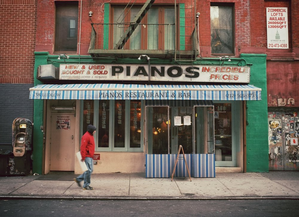 Pianos, Lower East Side