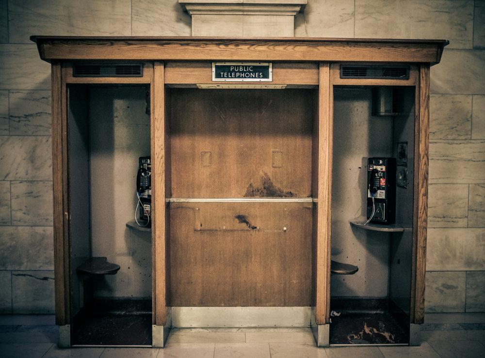 Public Telephones, NYC